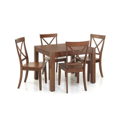 Imagio Home by Intercon Lifestyle 5 Piece Dining Set
