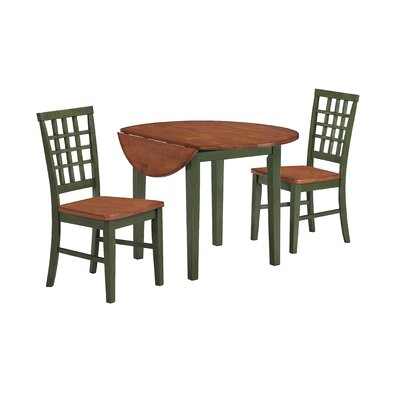 Imagio Home by Intercon Arlington 3 Piece Dining Set