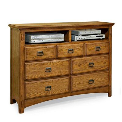 Imagio Home by Intercon Pasilla 7 Drawer Media C..