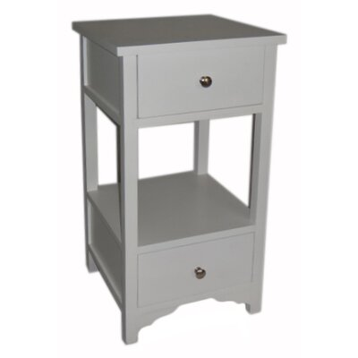 Cheungs 2 Drawer End Table