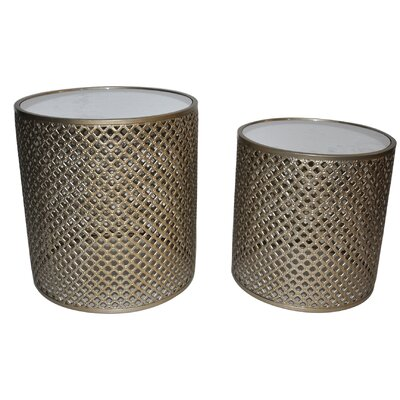 Cheungs 2 Piece Nesting Tables
