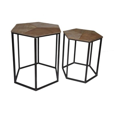 Cheungs 2 Piece Nesting Tables Image