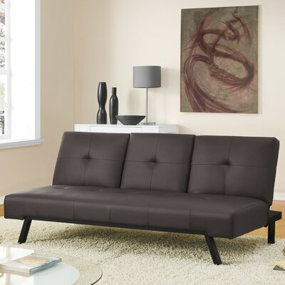 DHP Wynn Cupholder Futon and Mattress