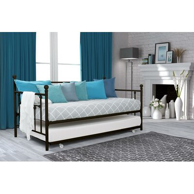 Charlton Home Mitton Daybed with Trundle