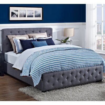 DHP Upholstered Platform Bed
