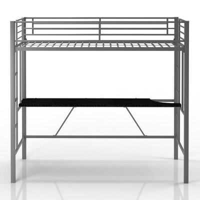 Viv + Rae Myrtle Twin Loft Bed with Desk