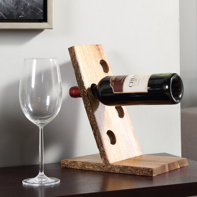 Loon Peak Haleakal 4 Bottle Tabletop Wine Rack