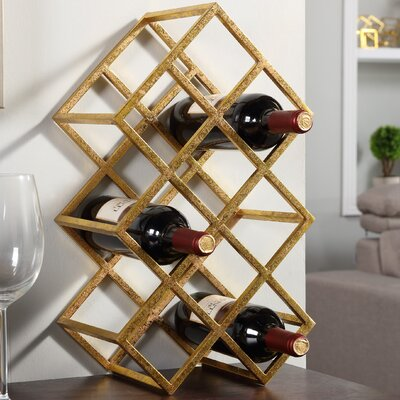 Mercer41 Anna 9 Bottle Tabletop Wine Rack