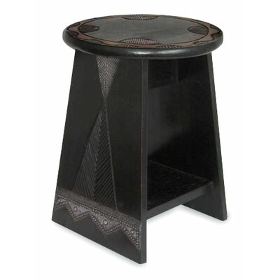 Novica African Beauty Wood End Table