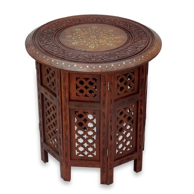 Novica Evening Coffee Time End Table