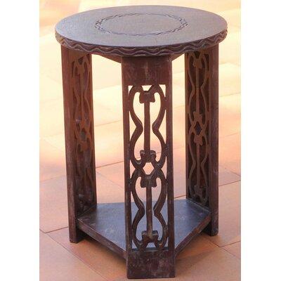 Novica Wood Side Table