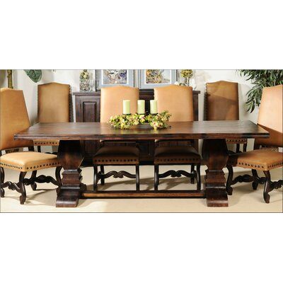 Aishni Home Furnishings Grand Castle Dining Table Wayfair