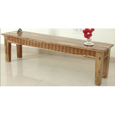 Aishni Home Furnishings Sahara Wood Kitchen Bench