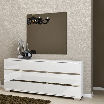 Star International Vivente 6 Drawer Dresser with Mirror