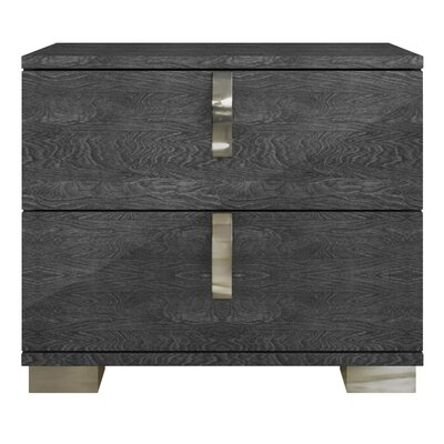 Star International Noble 2 Drawer Nightst..