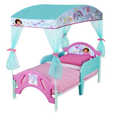 Delta Children Dora the Explorer Convertible Toddler Bed