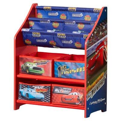 delta children disney pixar cars book toy organizer reviews wayfair - Disney Cars Books