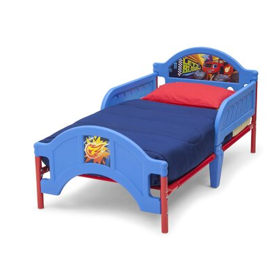Delta Children Nick Jr Blaze and The Monster Machines Convertible Toddler Bed