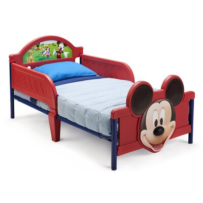 Delta Children Disney Mickey Mouse 3D Convertible Toddler Bed