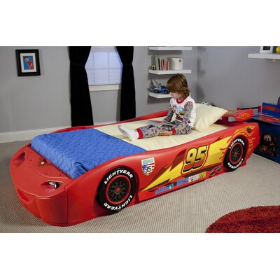 Delta Children Disney Pixar Cars Twin Car Customizable Bedroom Set