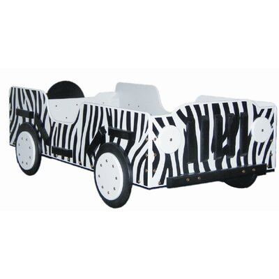 Just Kids Stuff Safari Toddler Car Bed