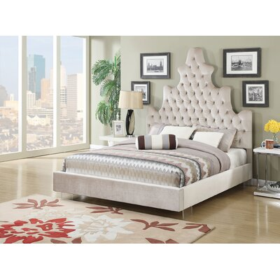 ACME Furniture Honesty Upholstery Panel Bed