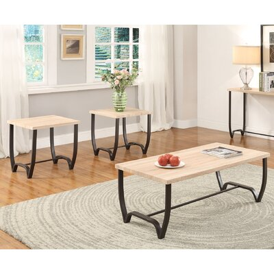 ACME Furniture Isidore 3 Piece Coffee Table Set