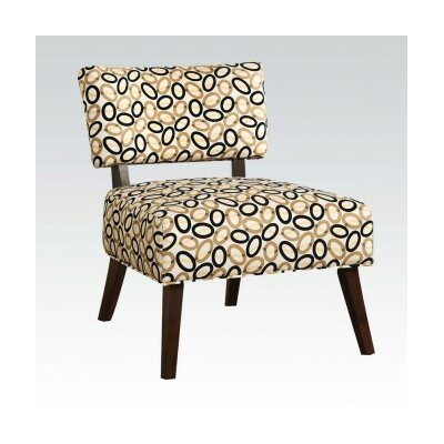ACME Furniture Able Fabric Slipper Chair