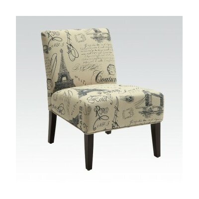 ACME Furniture Reece Fabric Slipper Chair