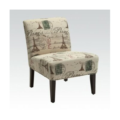 ACME Furniture Reece Fabric Slipper Chair Image