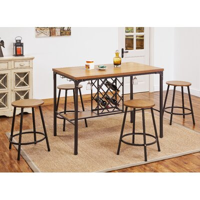 ACME Furniture Dora Counter Height Dining Table