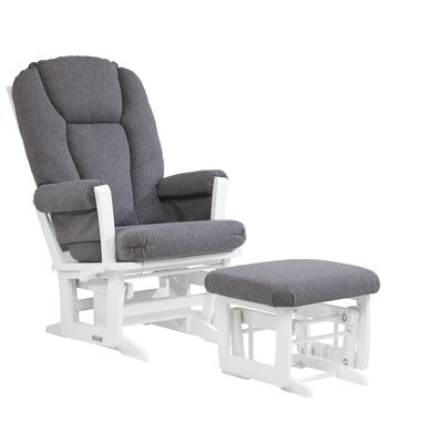 Dutailier Ultramotion Multi-Position Reclining Modern Glider and Ottoman