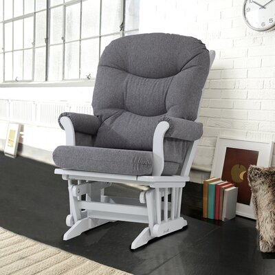 Dutailier Ultramotion Sleigh Glider with Plush Cushion