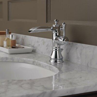 Delta Cassidy Single Handle Centerset Bathroom Faucet With Channel Spout  With Metal Pop Up Drain U0026 Reviews   Wayfair