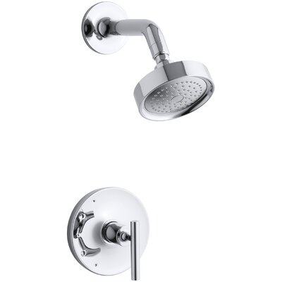 purist rite temp pressure balancing shower faucet trim lever handle valve not included kohler head parts diagram with hand heads