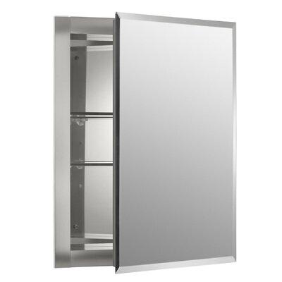 Kohler 16  x 20  Aluminum Mirrored Medicine Cabinet   Reviews   Wayfair. Kohler 16  x 20  Aluminum Mirrored Medicine Cabinet   Reviews