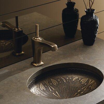 Kohler Undermount Bathroom Sinks Reviews kohler artist editions lilies lore oval undermount bathroom sink