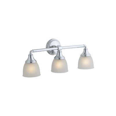 kohler devonshire 3 light vanity light reviews wayfair