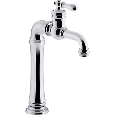 Kohler artifacts r gentleman 39 s tm bar sink faucet reviews wayfair for How to clean pitted chrome bathroom fixtures