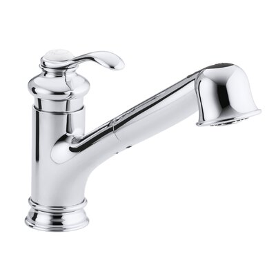 Kohler Fairfax Single Hole Or Three Hole Kitchen Sink Faucet With 9 Pullout Spout Reviews