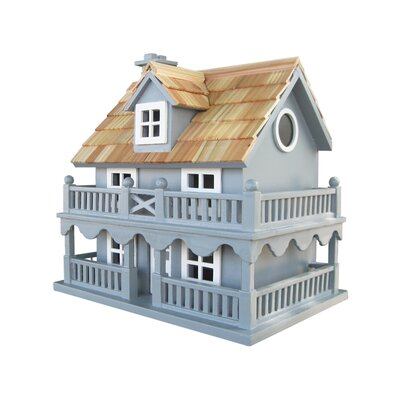 Home bazaar classic novelty cottage birdhouse reviews for Classic bird houses