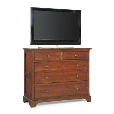 Cresent Furniture Retreat Cherry 4 Drawer Media ..