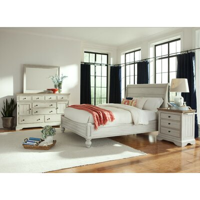 Cresent Furniture Cottage Panel Customizable Bedroom Set