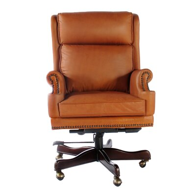 Lazzaro Leather Wainwright High-Back Leat..