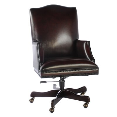 Lazzaro Leather Leather Executive Chai..