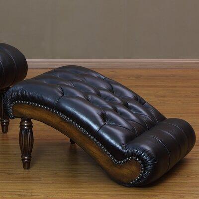 Lazzaro Leather Ottoman