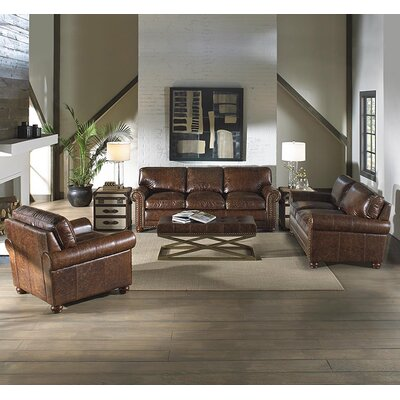 Lazzaro Leather Genesis Living Room Collection