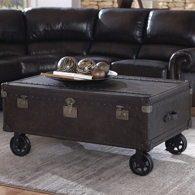 Lazzaro Leather General Coffee Table