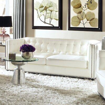 Lazzaro Leather Belaire Leather Sofa