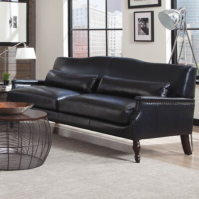 Lazzaro Leather Felipe Leather Sofa